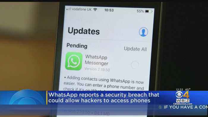 WhatsApp Reports Security Breach That Could Allow Hackers To Access Phones