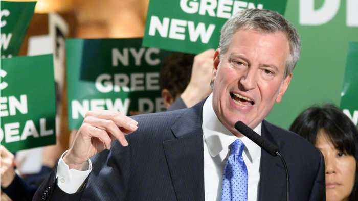 Bill De Blasio Threatens Trump Organization Over New Emissions Law