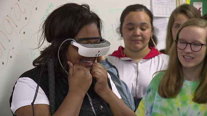 Special Glasses Allow North Carolina Student Who is Legally Blind to See Clearly for the First Time