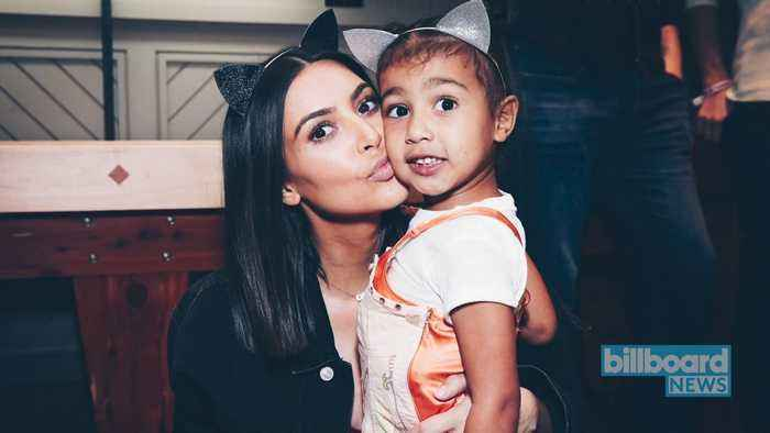 Kim Kardashian Posts Adorable Video of North West Rocking Out to 'Old Town Road' | Billboard News