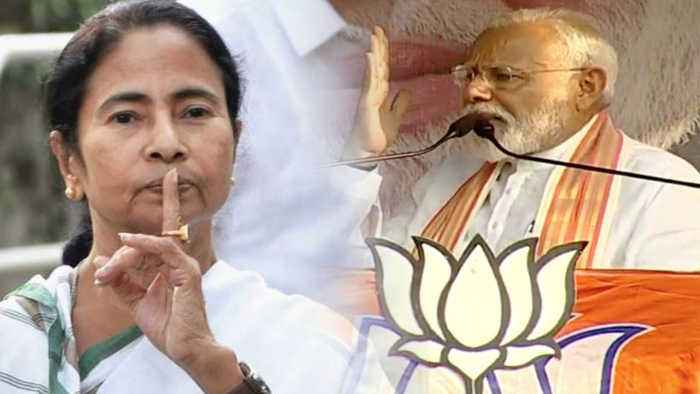 Scared of her own shadow': PM Modi targets Mamata Banerjee at Bengal rally | Oneindia News