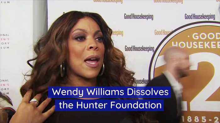 Wendy Williams Dissolves the Hunter Foundation