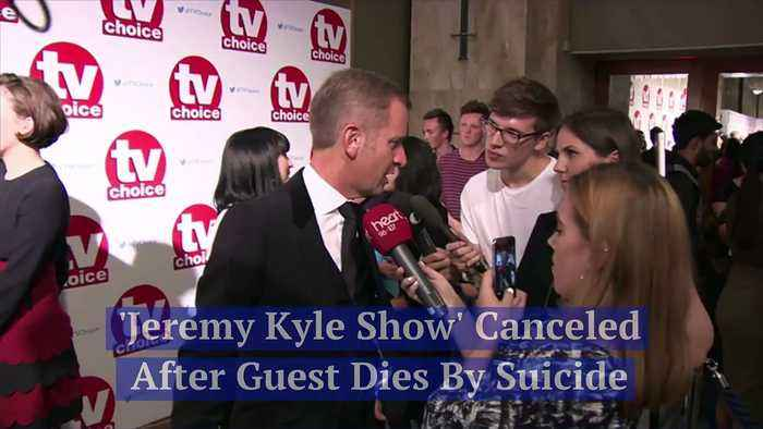 'Jeremy Kyle Show' Canceled After Guest Dies by Suicide