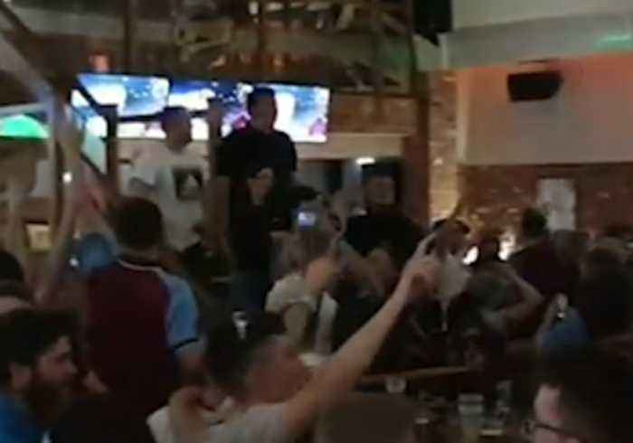 Aston Villa Fans Celebrate Progress to Championship Playoff Final