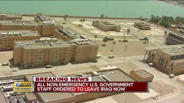 All non-emergency U.S. government staff ordered to leave Iraq now