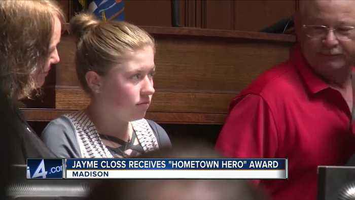 Kidnapping victim Jayme Closs honored by Wisconsin Assembly