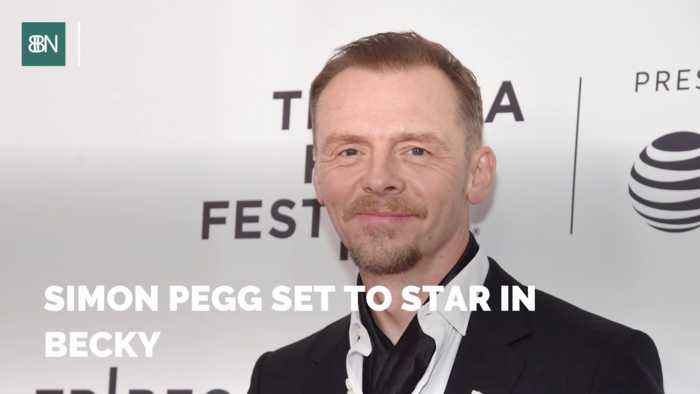 Simon Pegg Has A New Role