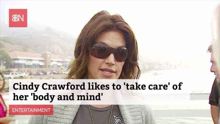 Cindy Crawford Is Health Conscious