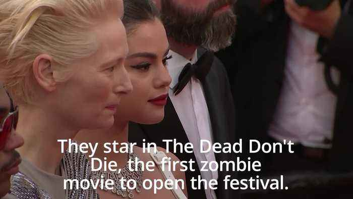 Cannes Film Festival opens with zombie movie The Dead Don't Die
