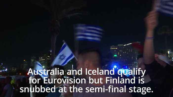 Australia and Iceland qualify for Eurovision final