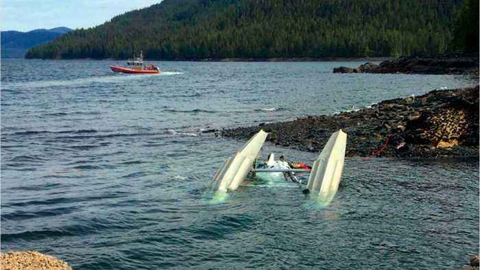 Mid-Air Crash In Alaska, Search For Victims Ends