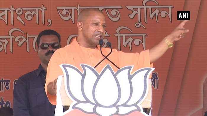 Changed timing of Muharram procession, not Durga Puja: UP CM Yogi in Bengal
