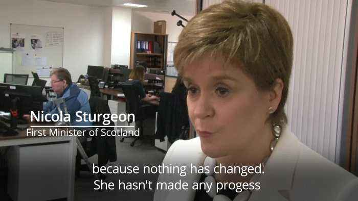 Nicola Sturgeon: Brexit deal doesn't have any chance of getting through in next vote