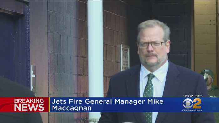 Jets Fire General Manager Mike Maccagnan