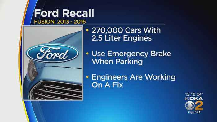 Ford Adds Thousands Of Cars To Unintended Rollaway Recall