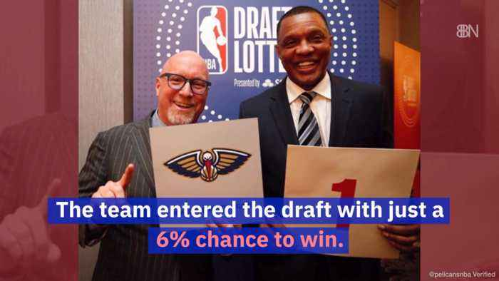 New Orleans Pelicans Take First For NBA Draft Lottery