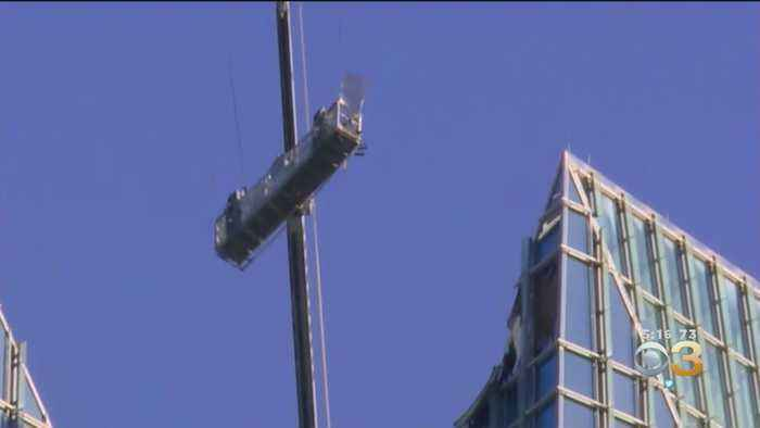 Window Washers Rescued After Being Trapped On Dangling Lift