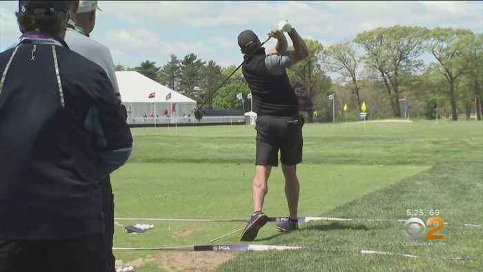 Long Island, Golfers All Ready For PGA Championship