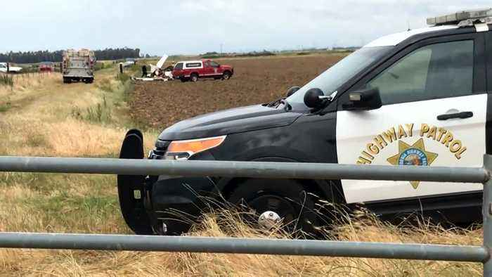 2 Small Planes Collide In Midair Over Rural Sutter County