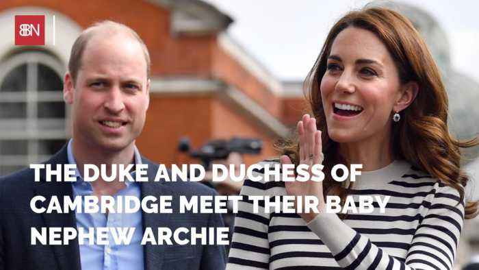 Baby Prince Archie Meets Royal Family Members