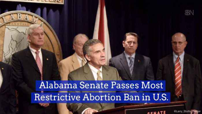 Alabama Is Very Serious About Their New Abortion Law