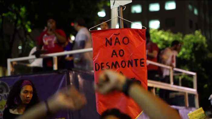 Nationwide protests in Brazil against education cuts