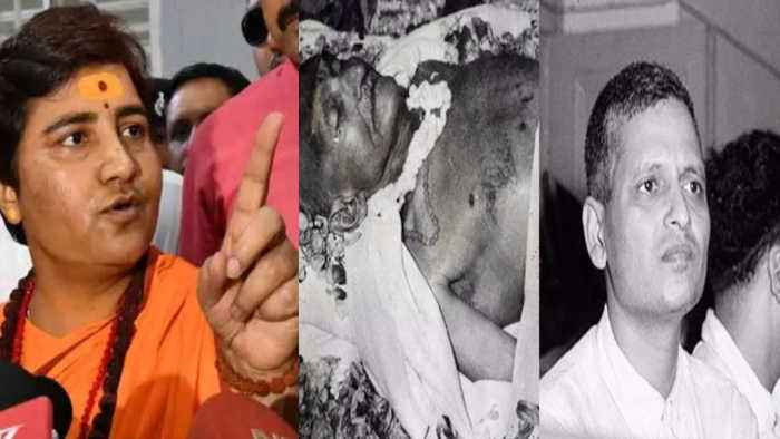 Sadhvi Pragya says Nathuram Godse was a Patriot | Oneindia News