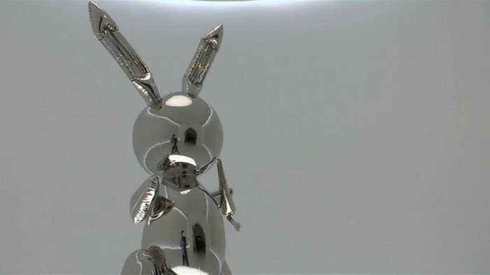 Jeff Koons 'Rabbit' sculpture sets €81.4 million record at sale