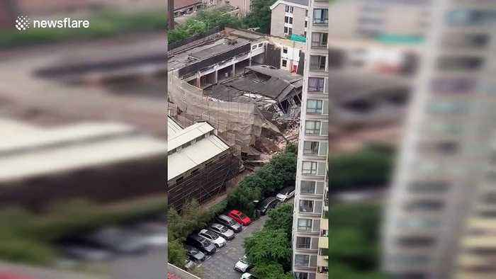 Seven killed after building collapsed in Shanghai