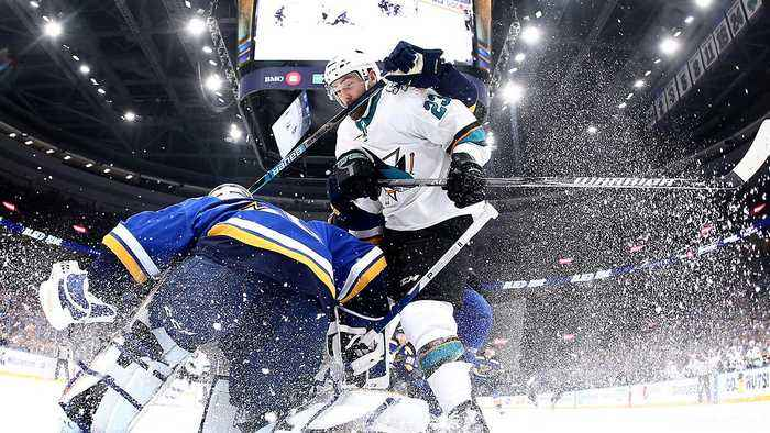 Sharks Beat Blues After Another Referee Mistake