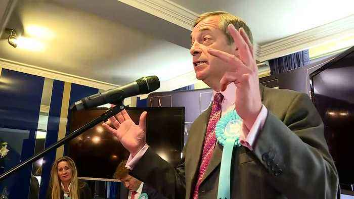Farage: 'We're launching a peaceful political revolution'