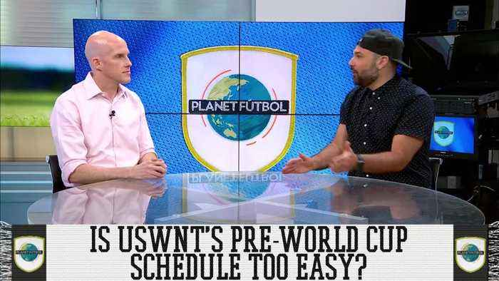 Is USWNT's Pre-World Cup Schedule Too Easy?