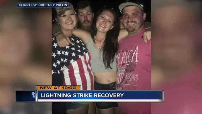 23-year-old woman struck by lightning at Country Thunder continues her recovery