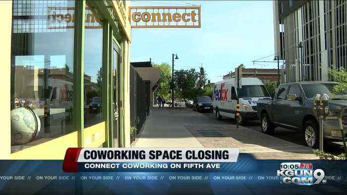 Coworking space in downtown Tucson closing in June