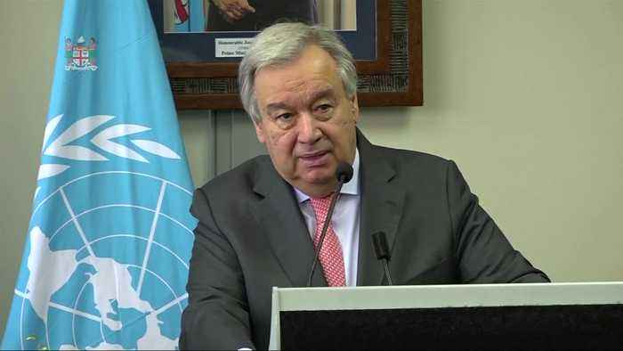 'As a grandfather, this is the battle of my life,' UN Secretary General on climate change