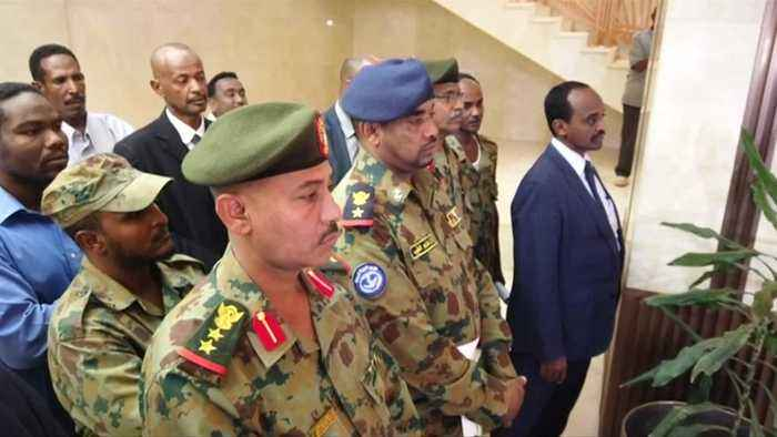 Sudanese military clears protesters with gunfire; suspends talks