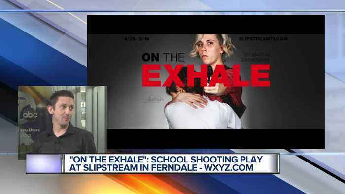 'On the Exhale' School shooting play at Slipstream in Ferndale