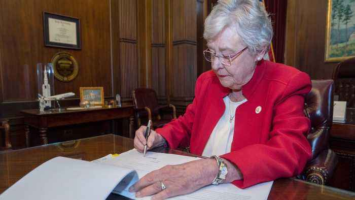 Alabama Governor Kay Ivey Signs Nation's Strictest Abortion Ban into Law