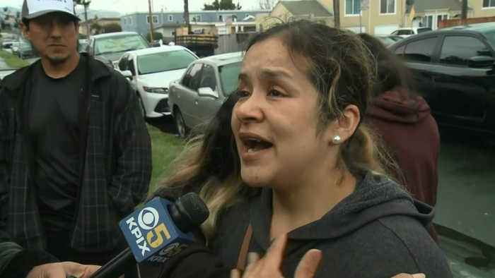 RAW: Daughter Of Man Killed By Stray Bullet In Richmond Tearfully Remembers Her Father