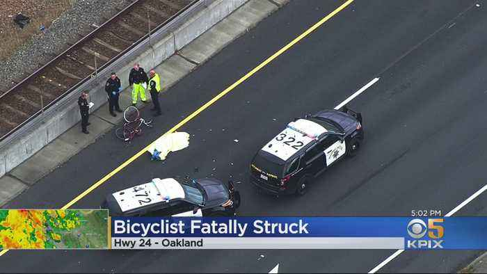 Cyclist Fatally Struck On Hwy 24 Off-Ramp In Oakland