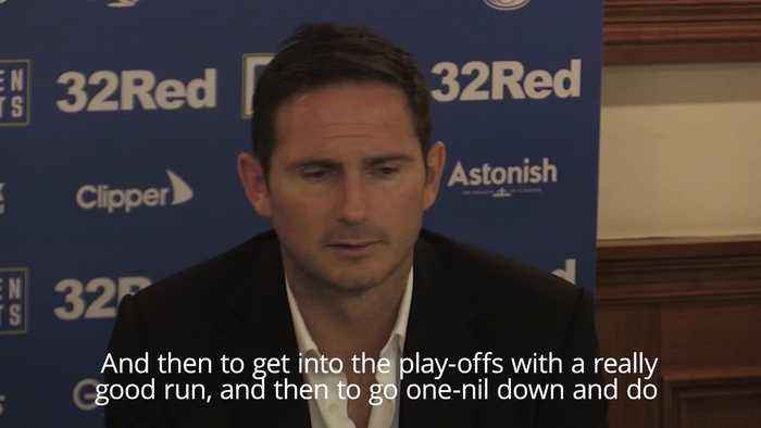Lampard compares emotions of play-offs with Chelsea days