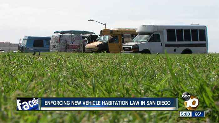 Enforcement begins for new vehicle habitation law