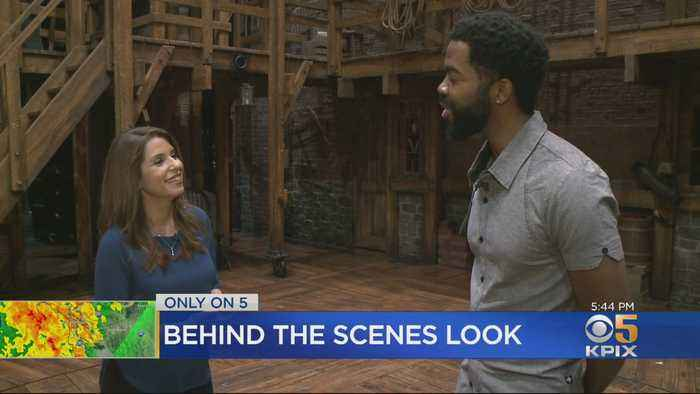 A Rare Behind-The-Scenes Look Onstage, Backstage With Stars Of Hamilton