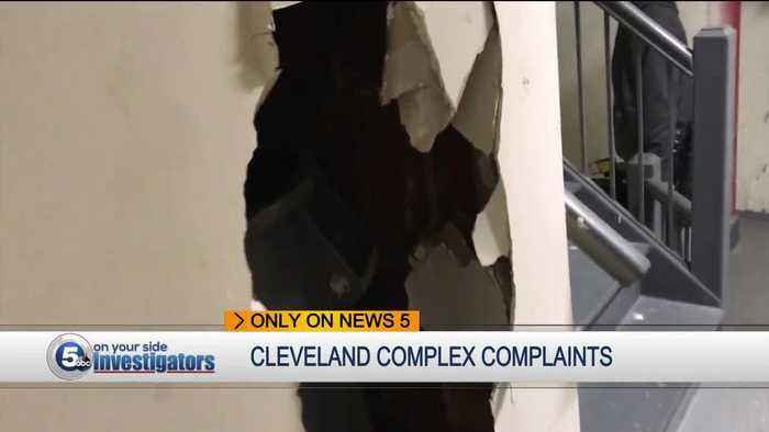 Cleveland tenants worried about the safety of their children at city apartment complex