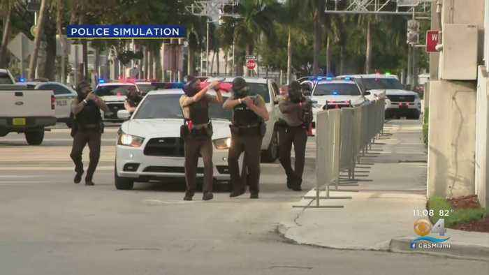 South Florida Law Enfocement Holds 'Operation Heat Shield III' To Train For Terror Attacks