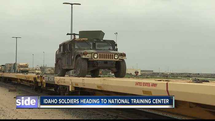 Idaho soldiers heading to National Training Center in California