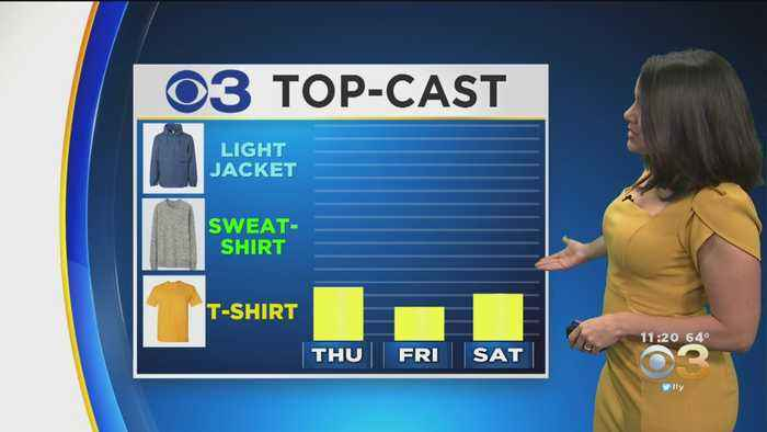 Philadelphia Weather: More Seasonable Sunshine