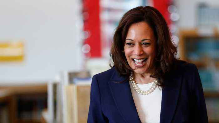 Kamala Harris Jokes Joe Biden Would Be Good As A Running Mate