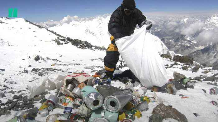 Litter Is Everywhere, From the Deepest Ocean Depths To The Highest Mountain