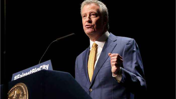 Bill De Blasio To Announce Presidential Run